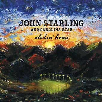 John stær & Carolina Star - Slidin' Home [CD] USA import