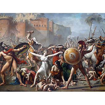 Jacques Louis David - The Sabine Women 1799 Poster Print Giclee