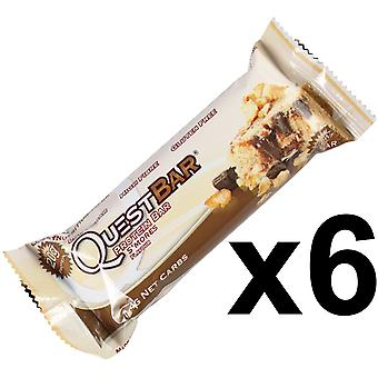 Quest Nutrition S'Mores Protein Bar Individual 6 x 60g Bars