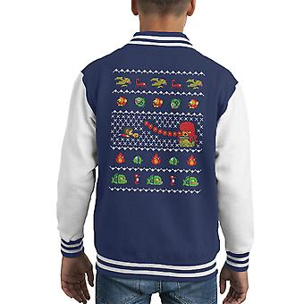 Alex Kidd In Varsity Jacket Natale mondo capretto
