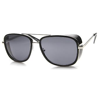 Mens Aviator Sunglasses With UV400 Protected Composite Lens