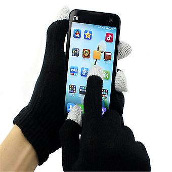 3 PAIRS Winter touch Cotton gloves capacitive screen Fashion conductive gloves for Intelligent mobile phone iphone 4 5