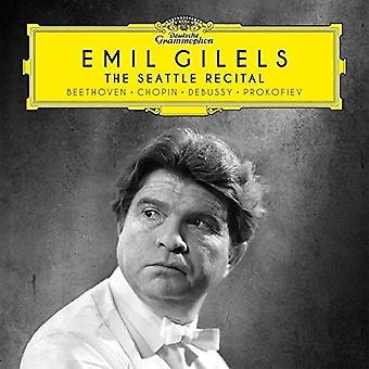 Emil Gilels - The Seattle Erwägungsgrund [CD] USA import