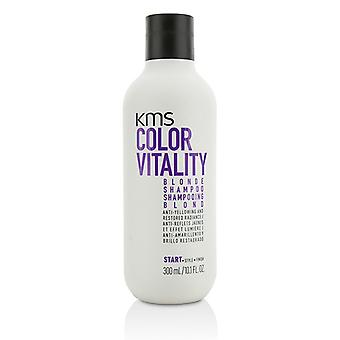 KMS California farve vitalitet Blonde Shampoo (Anti-gulfarvning og restaureret Radiance) 300ml/10.1 oz