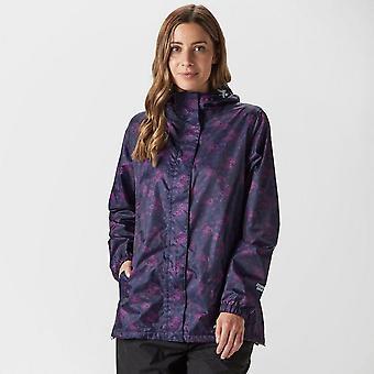 Purple Peter Storm Women's Patterned Packable Jacket