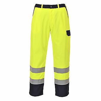 Portwest - Hi-Vis Bizflame brannbestandig Workwear bukser