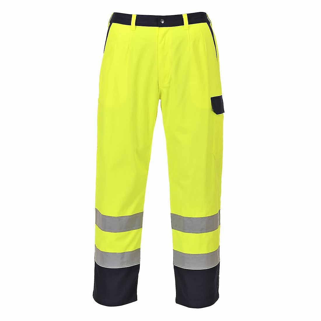 Portwest - Hi-Vis Bizflame Fire Resistant Workwear Trousers