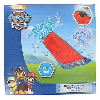 Paw Patrol Kids Slip and Slide Water Slide with Sprinklers 100x615cm