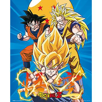 Dragon Ball Z 3 Gokus Mini Poster