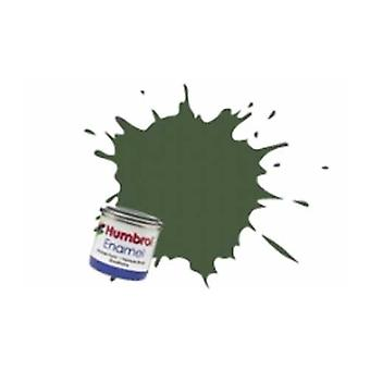 Humbrol Enamel Paint 14ML No 155 Olive Drab - Matt