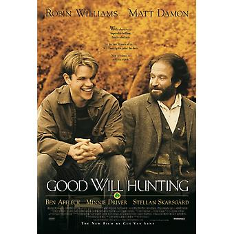 Good Will Hunting - One Sheet Poster Poster Print
