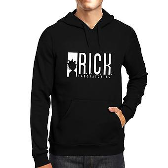 Rick Laboratories Rick And Morty Men's Hooded Sweatshirt