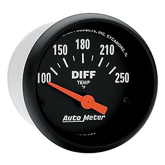 Auto Meter 2636 Z-Series Electric Differential Temperature Gauge