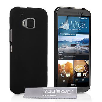 HTC M9 Hard Hybrid Case - Black