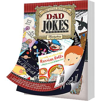 Hunkydory The Little Book Of A6 Paper Pad 144/Pkg-Dad Jokes LBK174