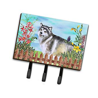 Carolines Treasures  CK1200TH68 Alaskan Malamute Spring Leash or Key Holder