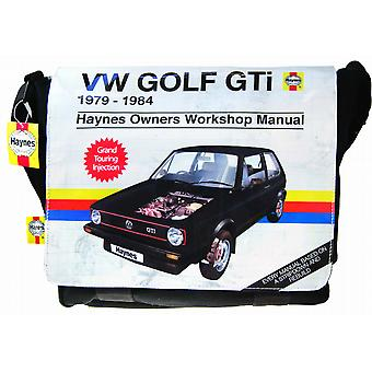 Official Haynes VW Golf GTI Mk 1 Satchel Shoulder Bag