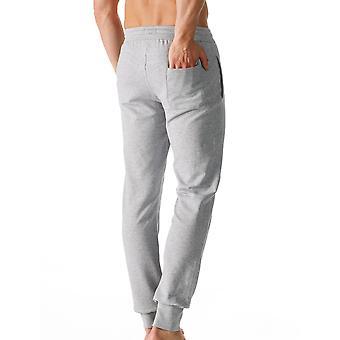 Mey 23560-620 мужчины пользуются серый сплошной цвет пижамы для пижамы брюки