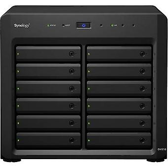 Network/server disk casing Synology Expansionseinheit DX1215 12 Bay