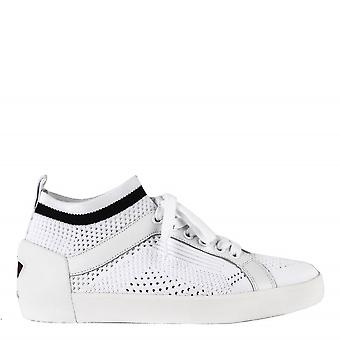 Ash Footwear Nolita White Knit Trainer