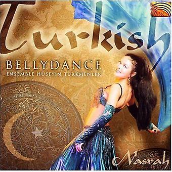 Ensemble Huseyin Turkmenler - turkiska Bellydance [CD] USA import