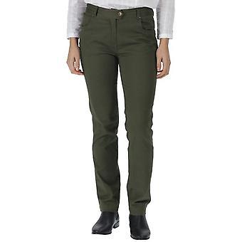 Regatta Womens/Ladies Damira Cotton Comfort Fit Walking Trousers
