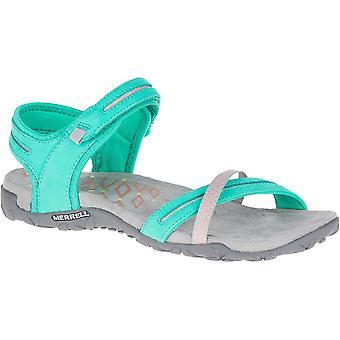Merrell Womens/Ladies Terran Cross II Sling Leather Slingback Sandals