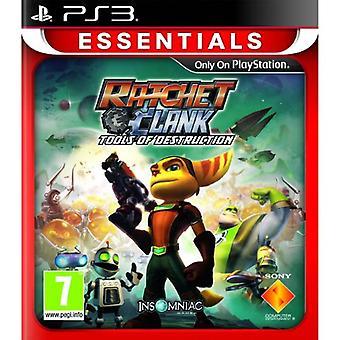 Ratchet Clank instrumenten van vernietiging PlayStation 3 Essentials (PS3)