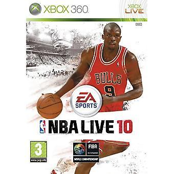 NBA Live 10 (Xbox 360) - Usine scellée