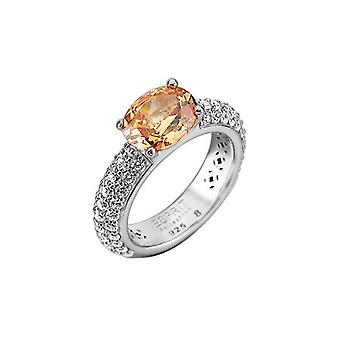 ESPRIT Дамы коллекции Кольцо серебро Amorbess GR, 18 ELRG91652E180