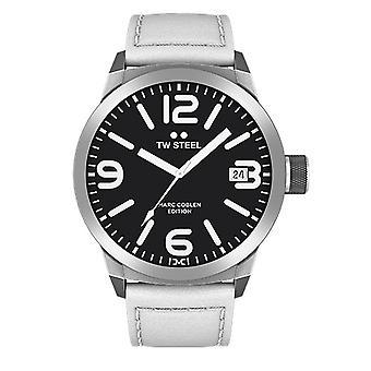 TW steel mens watch Marc Coblen Edition TWMC22 wrist watch leather band