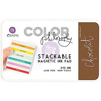 Prima Marketing Color Philosophy Dye Ink Pad-Chocolat
