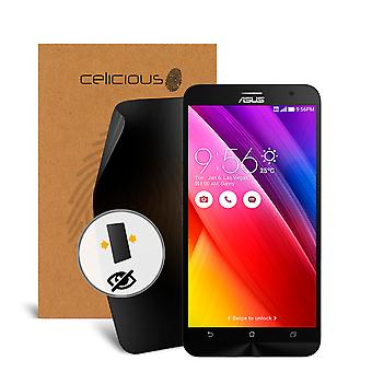 Celicious Privacy 2-Way Visual Black Out Screen Protector for Asus Zenfone 2 (ZE550ML)