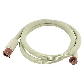 HQ water inlet hose latch 3/4 curved-3/4 straight-2.50 m