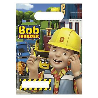 Bob of the Builder party bags gift bags 6 piece children birthday theme party