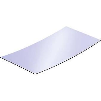 Reflekterende polystyrol ark Reely (L x B) 200 x 100 mm 1 mm