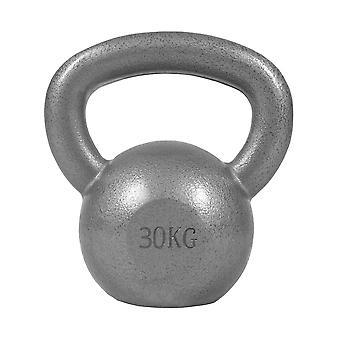 Kettlebell Gusseisen Silber 30 kg