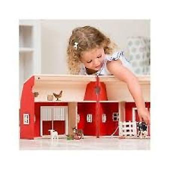 Limited edition portable barn with accessories and animals + 3 years