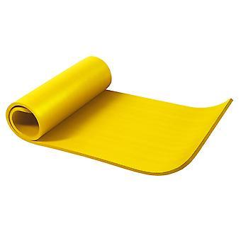 Yogamatte Gelb 190 x 60 x 1,5 cm
