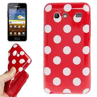 Schutzhülle für Handy Samsung Galaxy S Advance i9070 rot