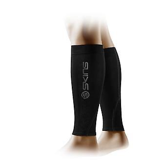 Skin Essentials unisex calf tights black/charcoal - B59040087