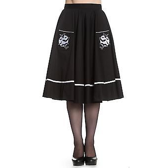 Hell Bunny Full Moon Skirt S