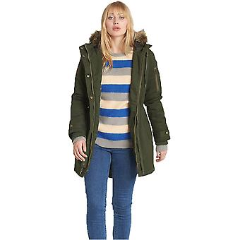 Element Olive Drab Curious Twill Womens Jacket