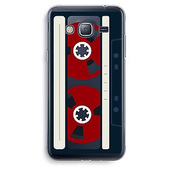 Samsung Galaxy J3 (2016) Transparent Case (Soft) - Here's your tape