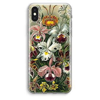 iPhone XS Max Transparent Case (Soft) - Haeckel Orchidae