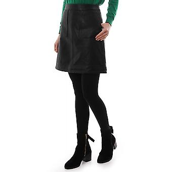 PS Paul Smith Leather Short Skirt
