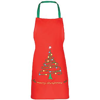 Christmas Boys & Girls Long Length Christmas Tree Festive Apron