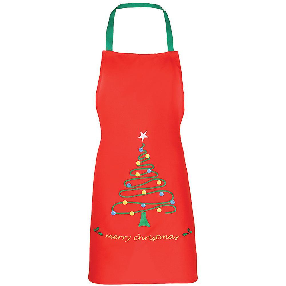 Christmas Boys & Girls Long Length Christmas Tree Festive Apron