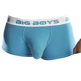 Duzi Chłopcy majtki niski wzrost - Cyan niebieski