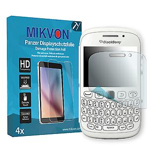BlackBerry Curve 9320 Screen Protector - Mikvon Armor Screen Protector (Retail Package with accessories)
